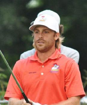 Francis Rouillier, Professionnel de golf