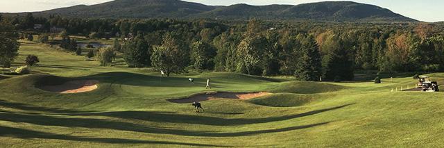 Forfait de Golf au Château Bromont